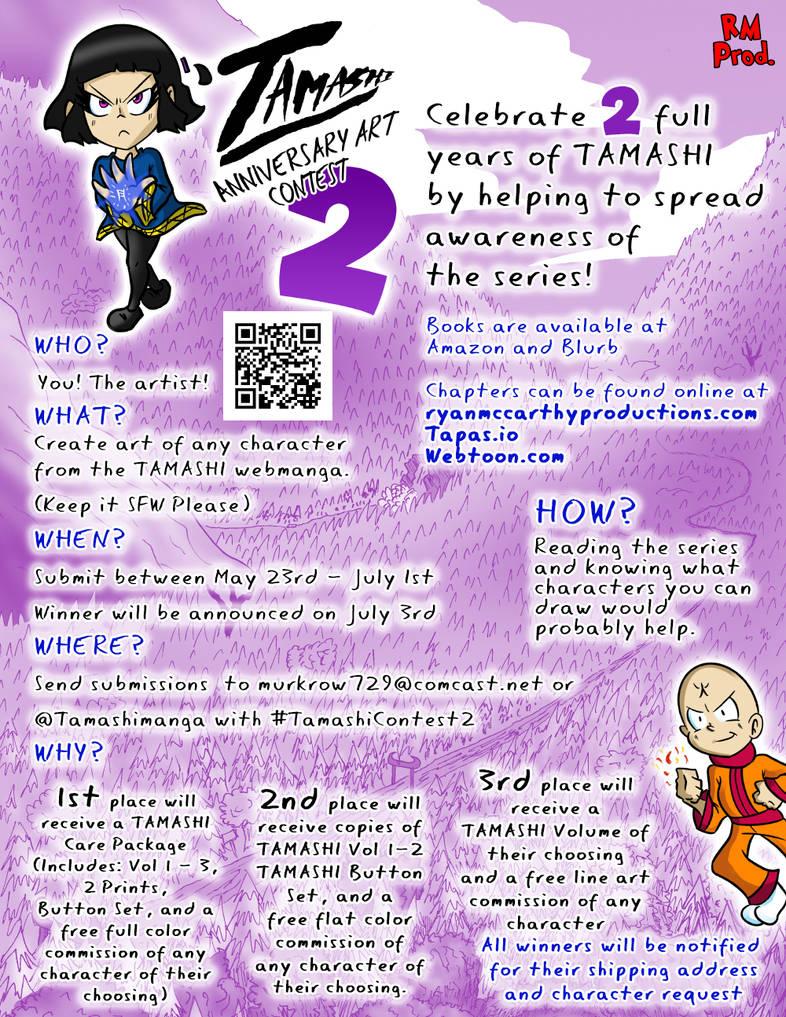 Tamashi Anniversary Art Contest 2 by Derede