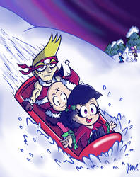 Holiday Sled (Tamashi)
