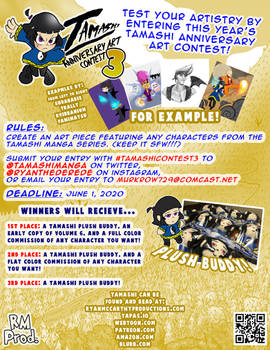 Tamashi Anniversary Art Contest 3