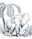 Inktober52. W.12. Elephant