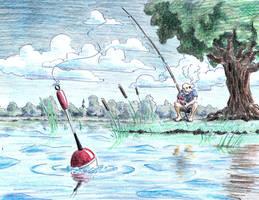 inktober #28. Float