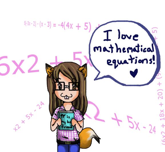 Valerie is a Math Nerd by Delpha on DeviantArt