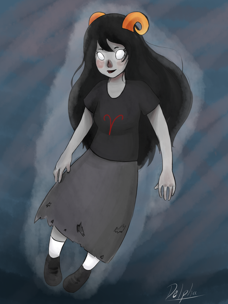 Happy Aradia Ghost by Delpha