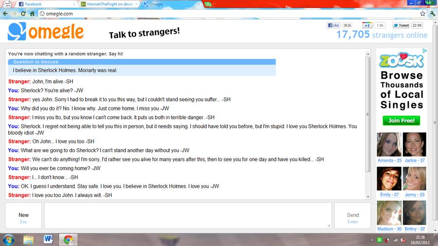 omegle video chat match login