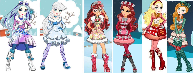 The Girls Of Epic Winter By Alchemistwitch14 On Deviantart