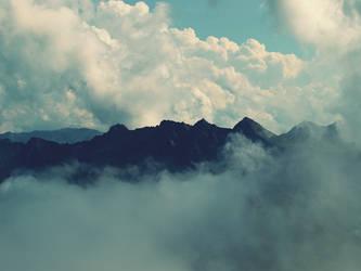 les alpes. by karuchuu