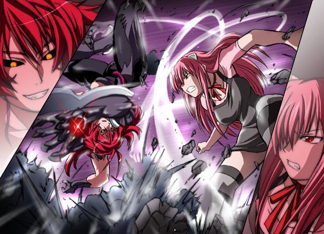 Masane vs Lucy by HimeAmaha