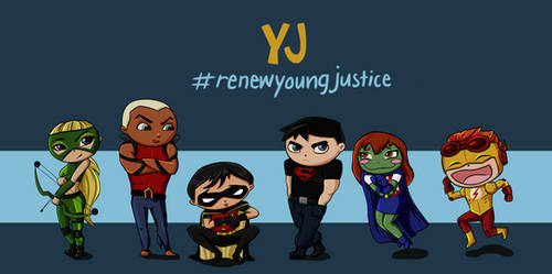 Young Justice by ElloXoMOW