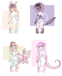 cute girls adoptables (open) by GV-55