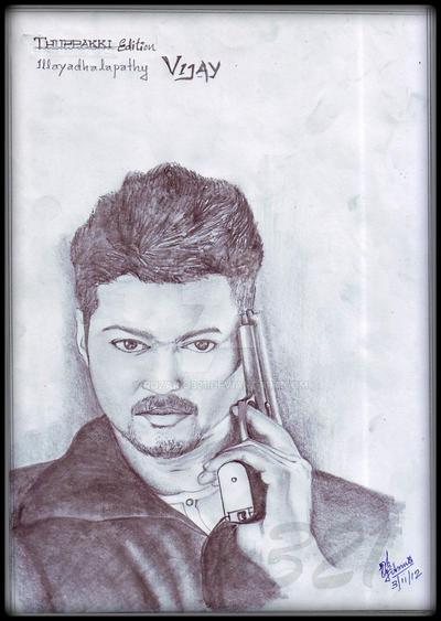 actor vijay in thuppaki style by ruzario321 on DeviantArt
