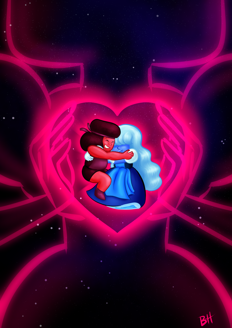 LESBIAN. GEM. CUTIES. Steven Universe © Cartoon Network, Rebecca Sugar