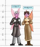 Otherworldly (Revised) Height Chart - The Alveys by BeckHop