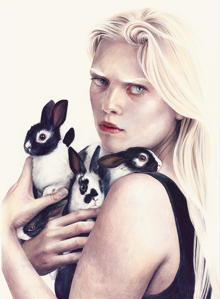 The Girl With All the Bunnies by sophitschku