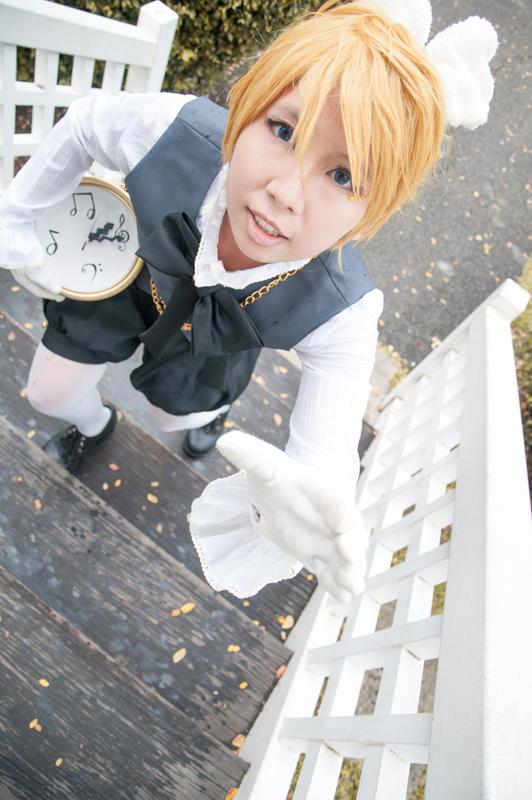 Alice in Musicland: Kagamine Len by YakuKaen
