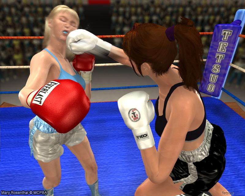 Mary vs Fiona 02 by Tetsuo72