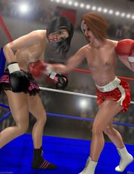 Syl vs Alex by Tetsuo72