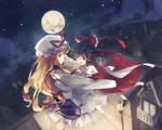 Yukari and Reimu
