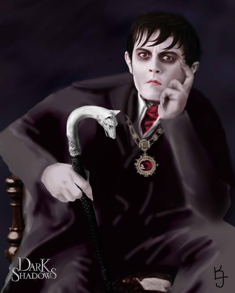 Dark Shadows Portrait by CelesOran