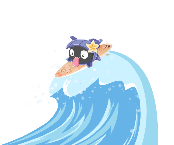 Shellder uses Surf! by MTSugarr on DeviantArt