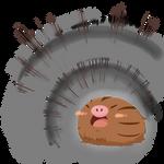 Swinub uses Roar!