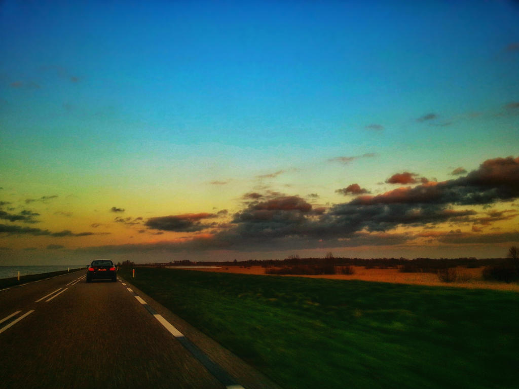 Driving home.. by MiniMeme-PhotoArt