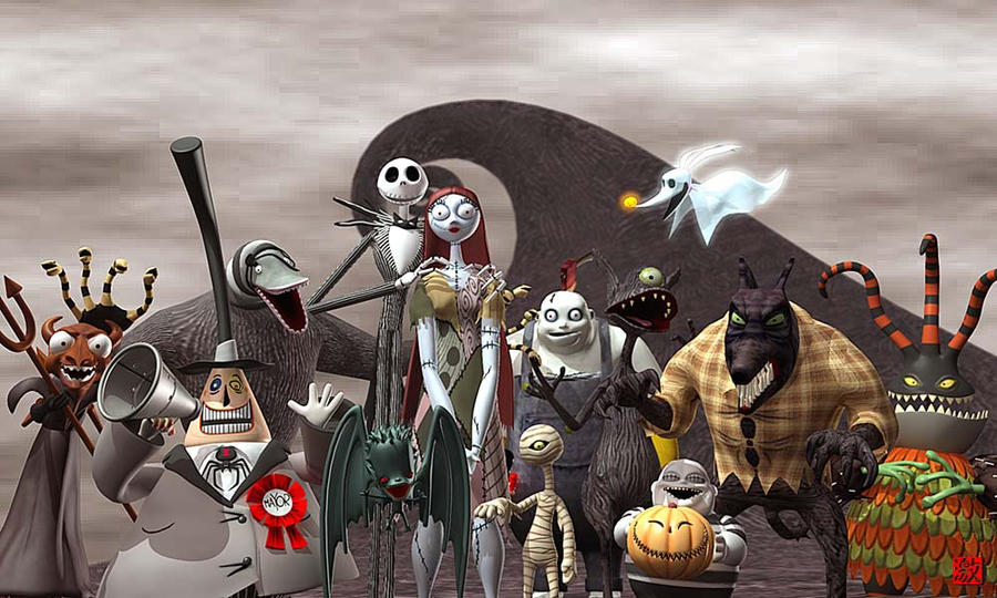 The Nightmare Before Christmas by GEKIMURA on DeviantArt