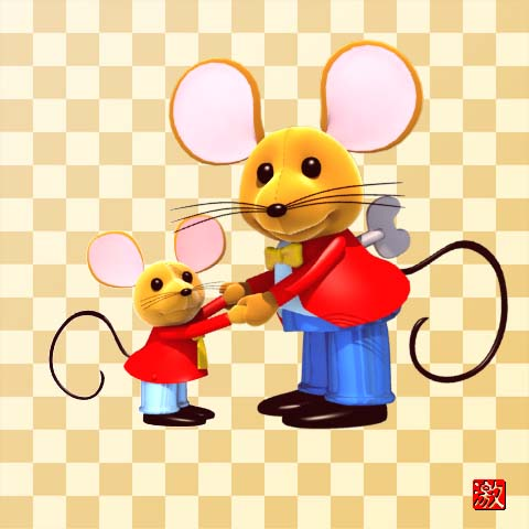 the mouse and his child by gekimura on deviantart