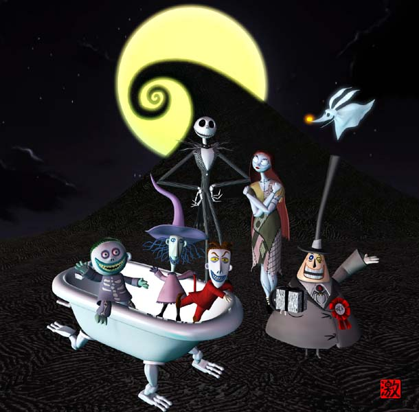 Nightmare Before Christmas 2 by GEKIMURA on DeviantArt