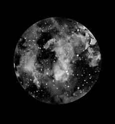 Moon II by Dominikka