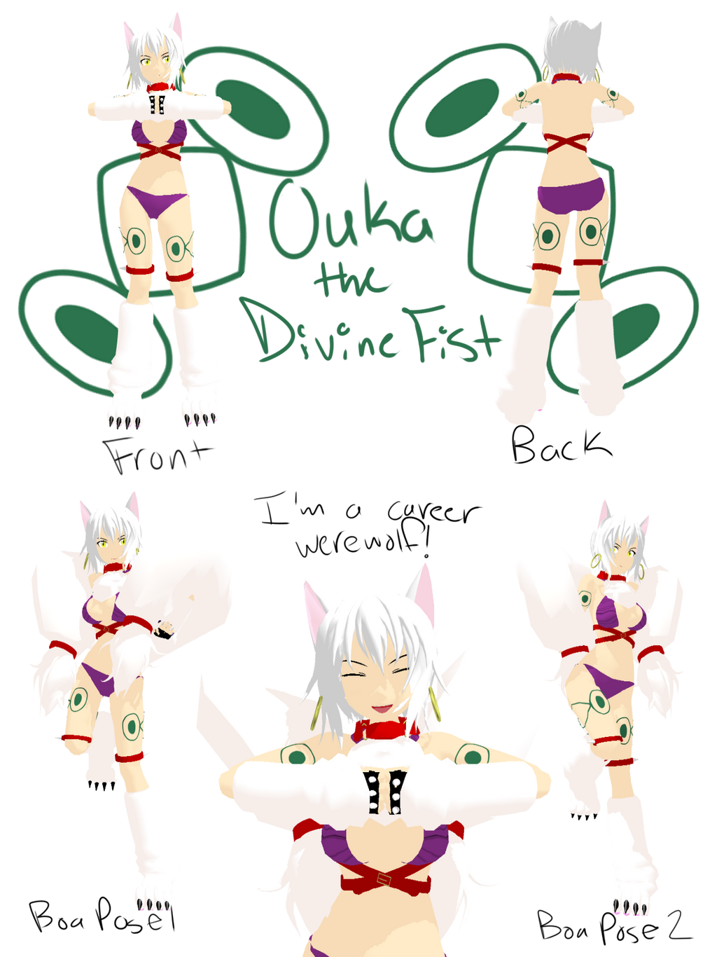 divine fist ouka