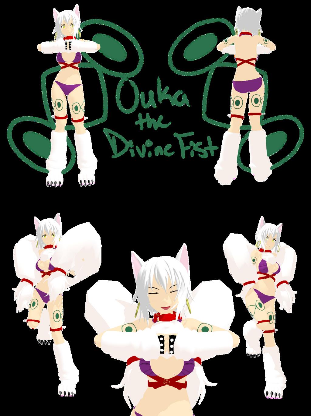 divine fist ouka