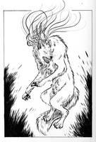 Commission--Fyre by Leeu-Rex