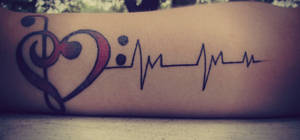 My tattoo by Skysofdreams