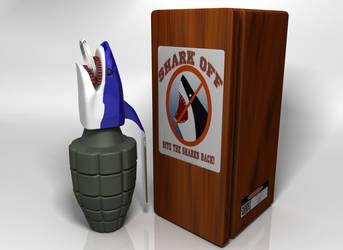 Shark Grenade by AlexCFriend