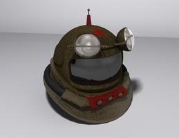 Soviet Dive Helmet