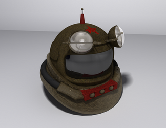 Soviet Dive Helmet by AlexCFriend