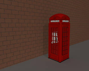 Phone Booth by AlexCFriend