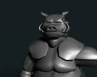 Warthog Knight by AlexCFriend