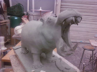 Hippo Process 01 by AlexCFriend
