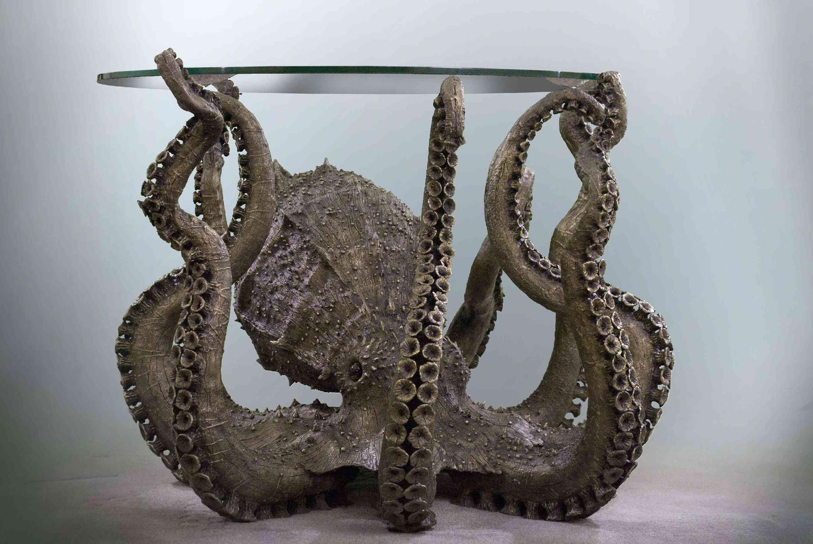 Bronze Octopus by AlexCFriend