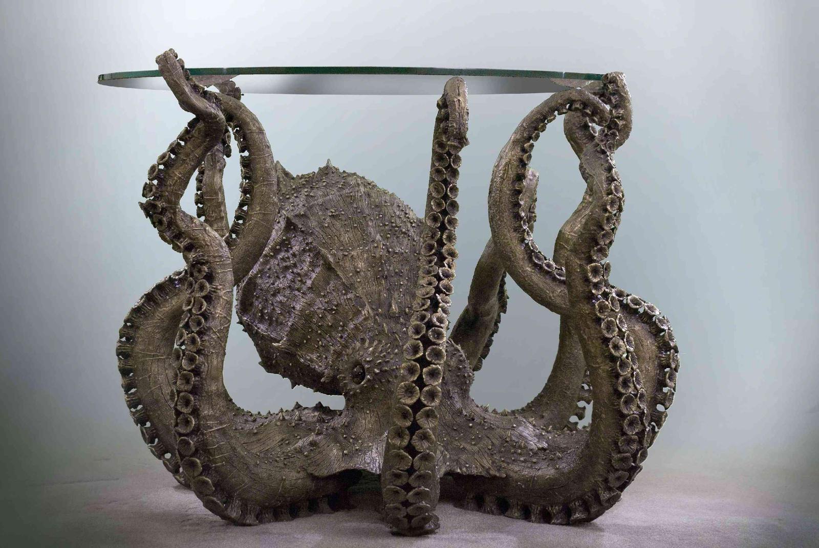 Bronze Octopus