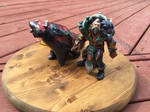 Lone Druid 3D print 2 by AlexCFriend