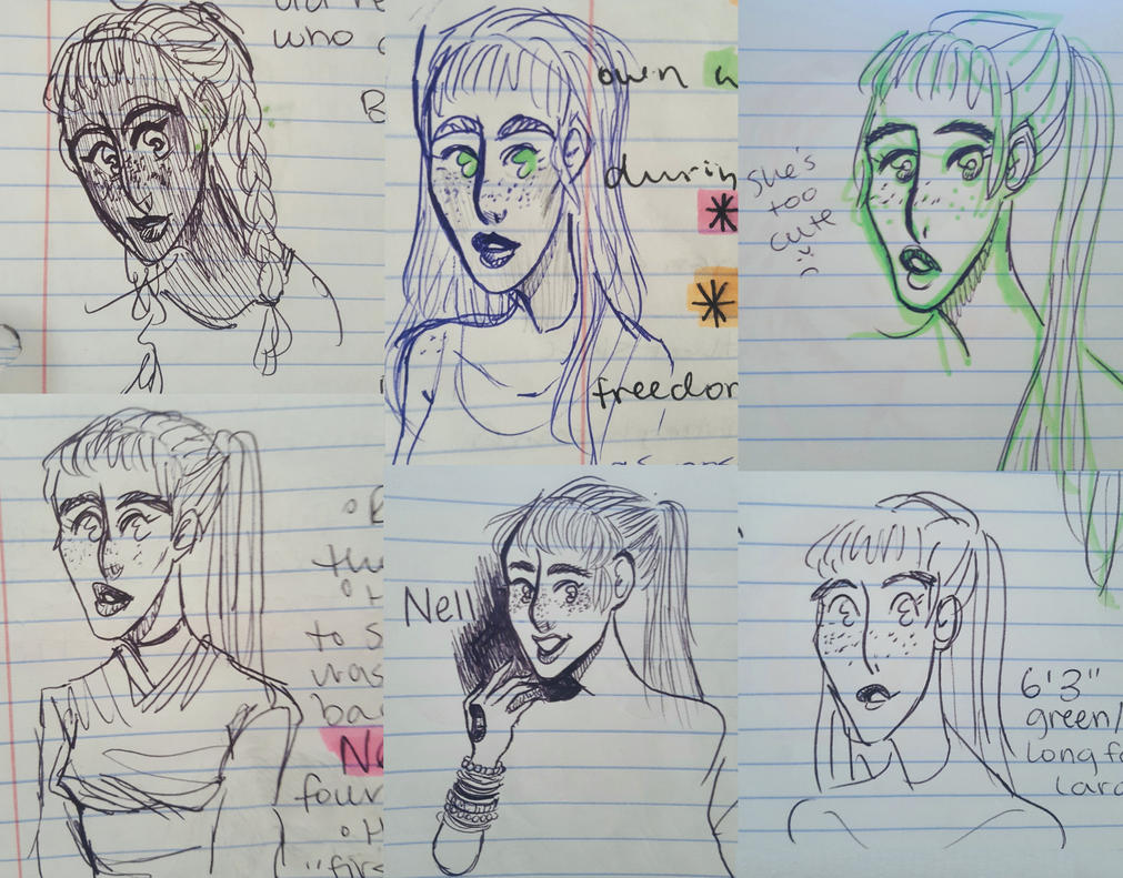 too many busts of Nell looking right by OsoDeClare