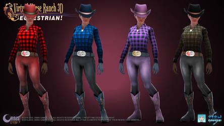 Virtual Horse Ranch 3D - Equestrian! - Western