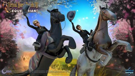 Virtual Horse Ranch 3D - Equestrian! - Yee Haw!!