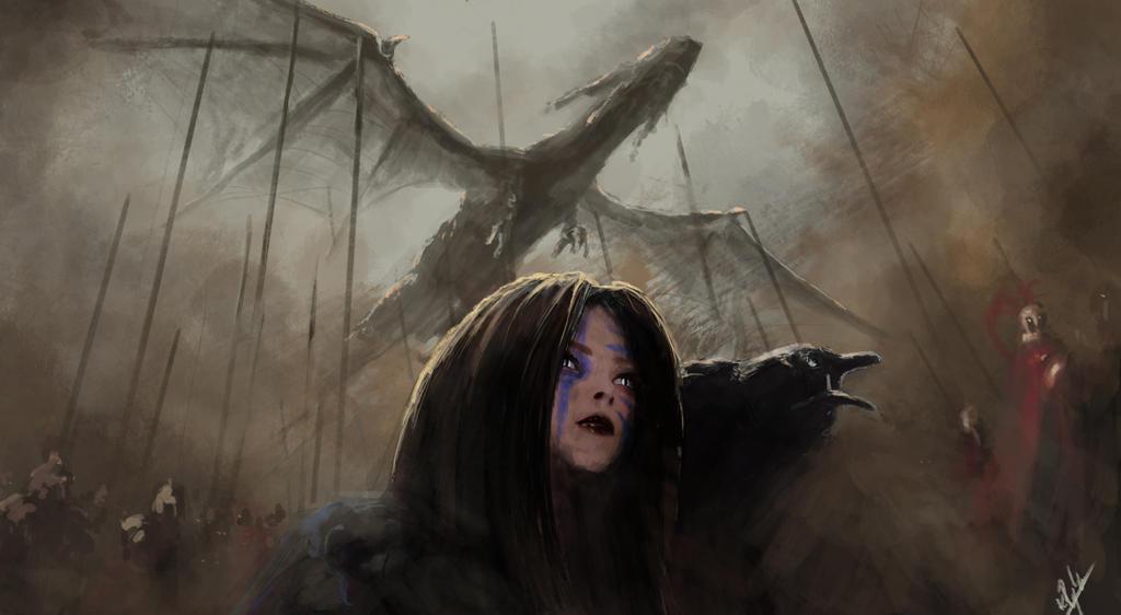Dragon War by KamilRynkiewicz