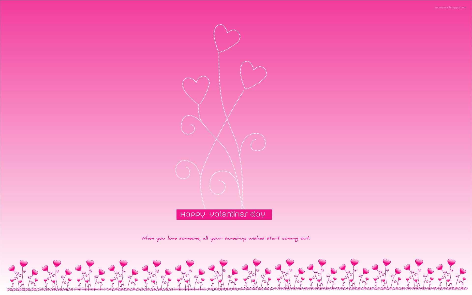 pink valentines wallpapers by moneyzeal on deviantart