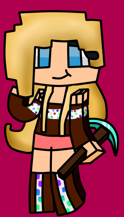 minecraft skin girl by ladyniancat on deviantart