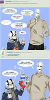Ask Sans and Gaster - 1