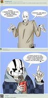 Ask Sans and Gaster - 2
